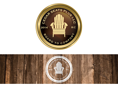 Cedar Seats Plus LLC / Board To Comfort / 2014 / RC A Logo, Monogram, or Icon  Draft # 3 by nagamas