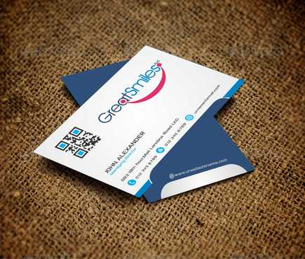 Great Smiles, PLLC Business Cards and Stationery  Draft # 119 by DesignBlast