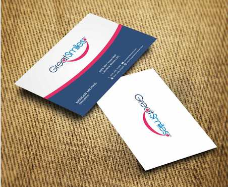 Great Smiles, PLLC Business Cards and Stationery  Draft # 175 by Dawson