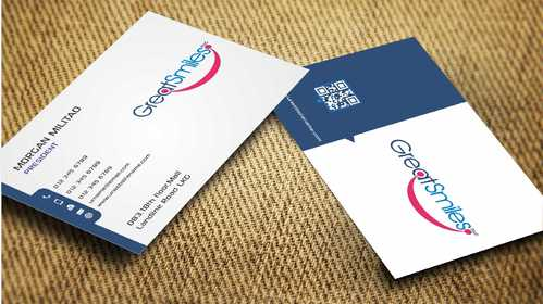 Great Smiles, PLLC Business Cards and Stationery  Draft # 177 by Dawson