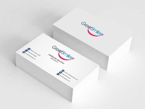 Great Smiles, PLLC Business Cards and Stationery  Draft # 179 by Dawson