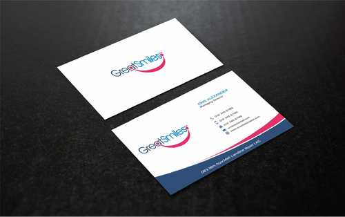 Great Smiles, PLLC Business Cards and Stationery  Draft # 182 by Dawson