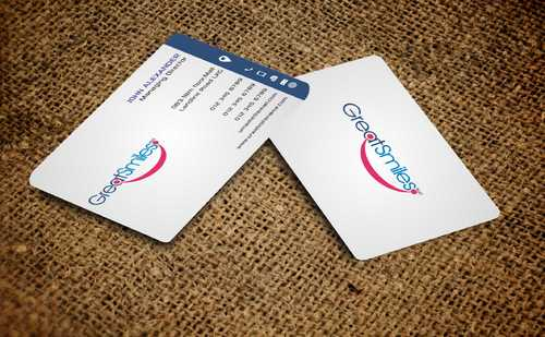 Great Smiles, PLLC Business Cards and Stationery  Draft # 186 by Dawson