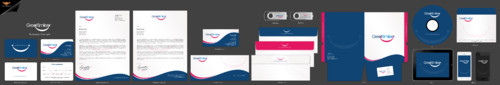 Great Smiles, PLLC Business Cards and Stationery Winning Design by einsanimation