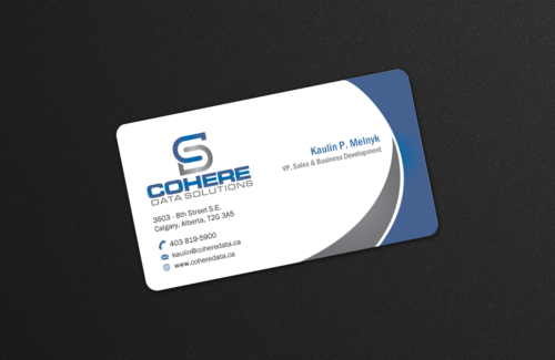 Cohere cards Business Cards and Stationery Winning Design by einsanimation