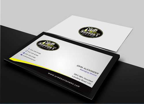 A&P Support Business Cards and Stationery  Draft # 154 by Dawson