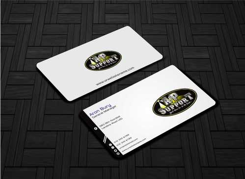 A&P Support Business Cards and Stationery  Draft # 155 by Dawson
