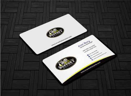 A&P Support Business Cards and Stationery  Draft # 156 by Dawson