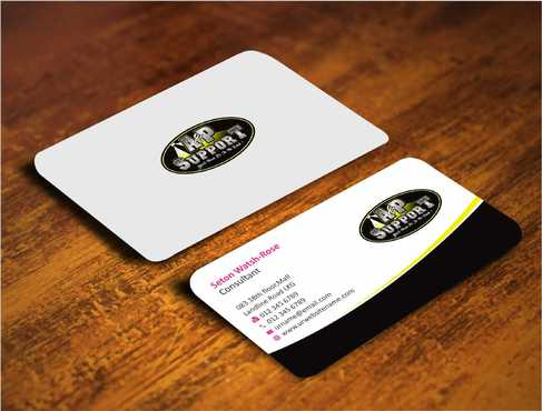 A&P Support Business Cards and Stationery  Draft # 157 by Dawson