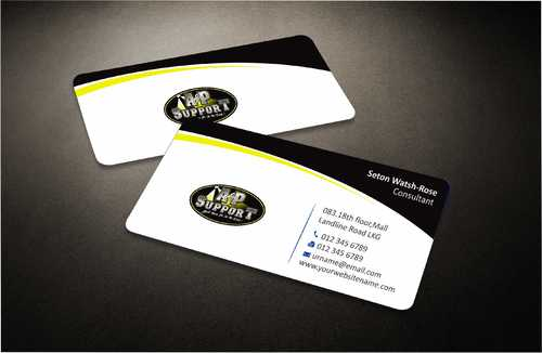 A&P Support Business Cards and Stationery  Draft # 158 by Dawson