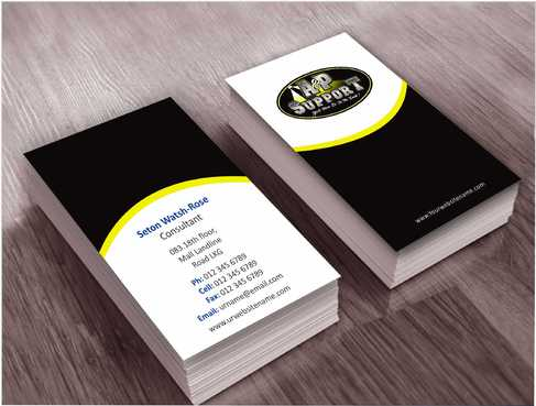 A&P Support Business Cards and Stationery  Draft # 159 by Dawson