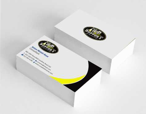 A&P Support Business Cards and Stationery  Draft # 160 by Dawson