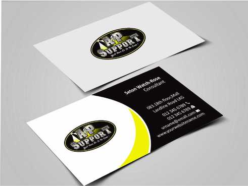 A&P Support Business Cards and Stationery  Draft # 165 by Dawson