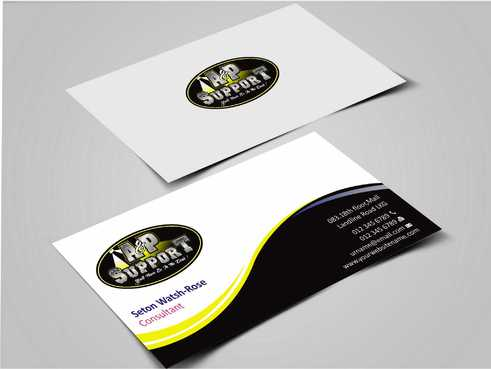 A&P Support Business Cards and Stationery  Draft # 166 by Dawson