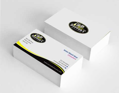 A&P Support Business Cards and Stationery  Draft # 167 by Dawson