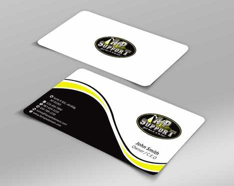 A&P Support Business Cards and Stationery  Draft # 168 by Dawson