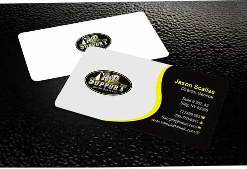 A&P Support Business Cards and Stationery  Draft # 170 by Dawson