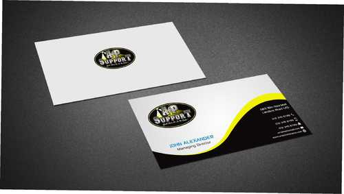A&P Support Business Cards and Stationery  Draft # 171 by Dawson