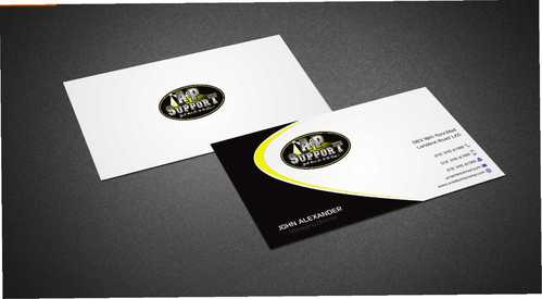 A&P Support Business Cards and Stationery  Draft # 172 by Dawson