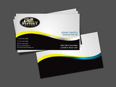 A&P Support Business Cards and Stationery  Draft # 175 by Dawson