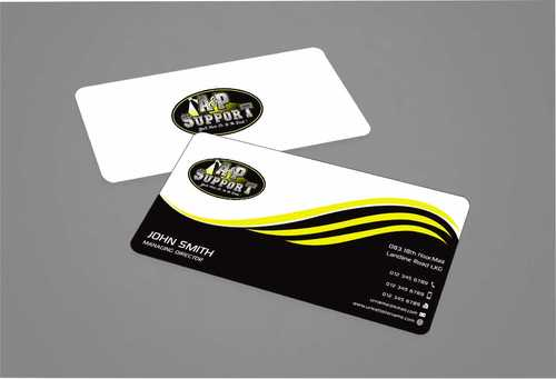 A&P Support Business Cards and Stationery  Draft # 174 by Dawson