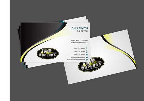 A&P Support Business Cards and Stationery  Draft # 176 by Dawson