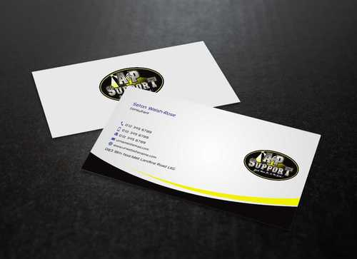 A&P Support Business Cards and Stationery  Draft # 178 by Dawson