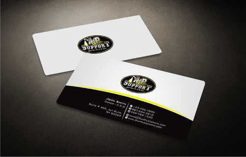 A&P Support Business Cards and Stationery  Draft # 179 by Dawson