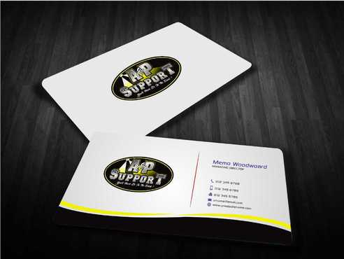 A&P Support Business Cards and Stationery  Draft # 185 by Dawson