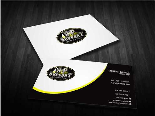 A&P Support Business Cards and Stationery  Draft # 187 by Dawson