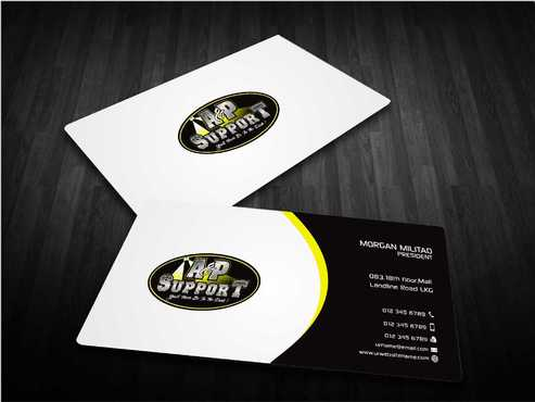 A&P Support Business Cards and Stationery  Draft # 188 by Dawson