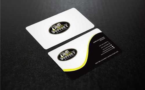 A&P Support Business Cards and Stationery  Draft # 189 by Dawson