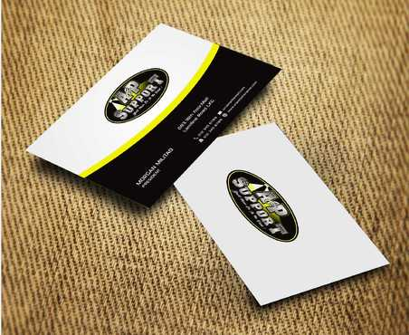 A&P Support Business Cards and Stationery  Draft # 190 by Dawson