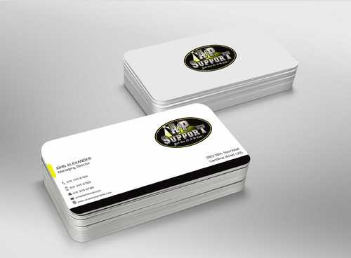 A&P Support Business Cards and Stationery  Draft # 191 by Dawson