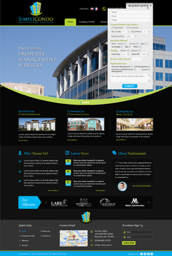 Simplicondo, Inc Complete Web Design Solution  Draft # 311 by jogdesigner