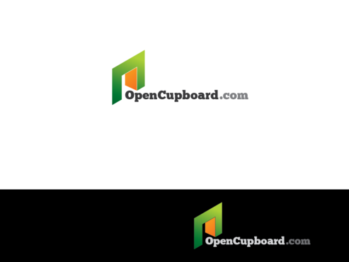OpenCupboard.com A Logo, Monogram, or Icon  Draft # 4 by Rajeshpk