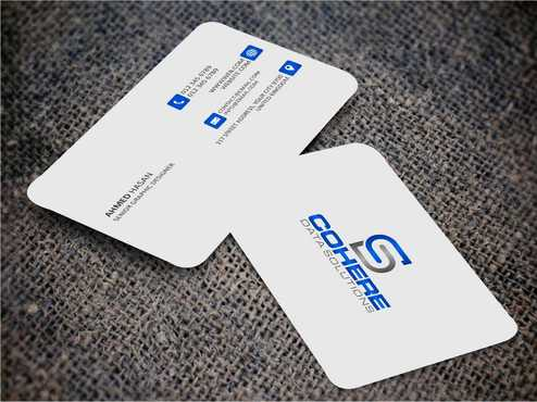 Cohere cards Business Cards and Stationery  Draft # 234 by DesignBlast