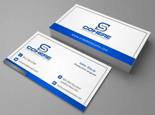 Cohere cards Business Cards and Stationery  Draft # 245 by DesignBlast