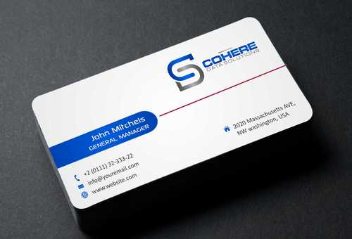 Cohere cards Business Cards and Stationery  Draft # 247 by DesignBlast