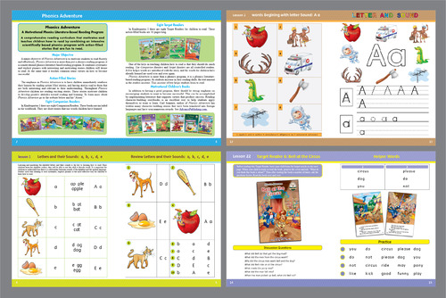 For Children learning to Read using Phonics Marketing collateral  Draft # 29 by Achiver