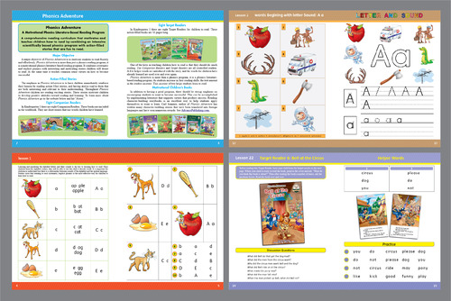 For Children learning to Read using Phonics Marketing collateral  Draft # 30 by Achiver