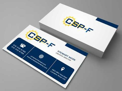 Business cards Business Cards and Stationery  Draft # 78 by DesignBlast