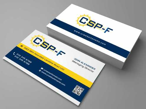Business cards Business Cards and Stationery  Draft # 96 by DesignBlast