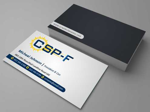 Business cards Business Cards and Stationery  Draft # 120 by DesignBlast