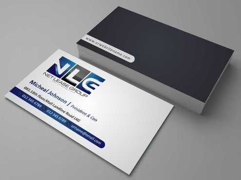 www.NetLeaseGRP.com (is our best site) Business Cards and Stationery  Draft # 70 by DesignBlast