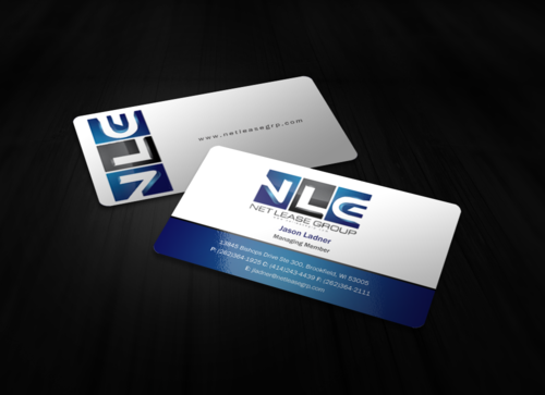 www.NetLeaseGRP.com (is our best site) Business Cards and Stationery Winning Design by einsanimation