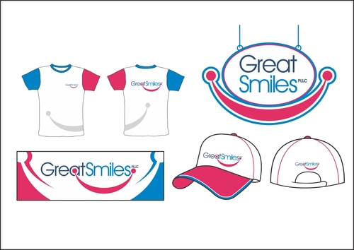 Great Smiles, PLLC Marketing collateral  Draft # 13 by capt6blok
