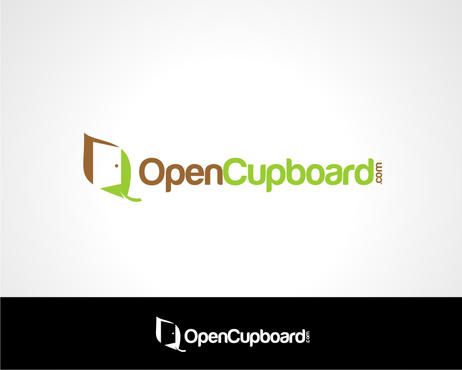 OpenCupboard.com Logo Winning Design by veedesign