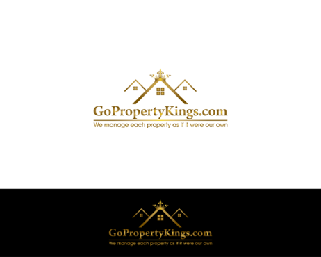 GoPropertyKings.com Logo Winning Design by uniquelogo