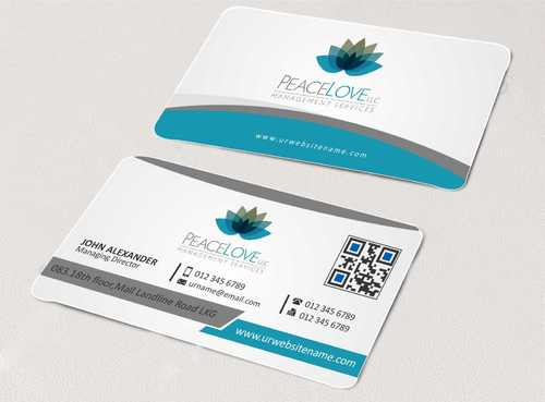 Peace Love LLC  Business Cards and Stationery  Draft # 135 by DesignBlast